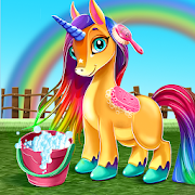 Little Unicorn Care Baby Pony Pet