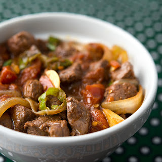 Tibs, Ethiopian Stir-Fried Beef or Venison.