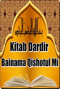Kitab Dardir Bainama Qishotul Mi - náhled