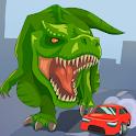 Jurassic Dinosaur: City rampage icon