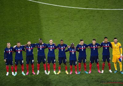 La triste et historique série en cours de l'équipe de France