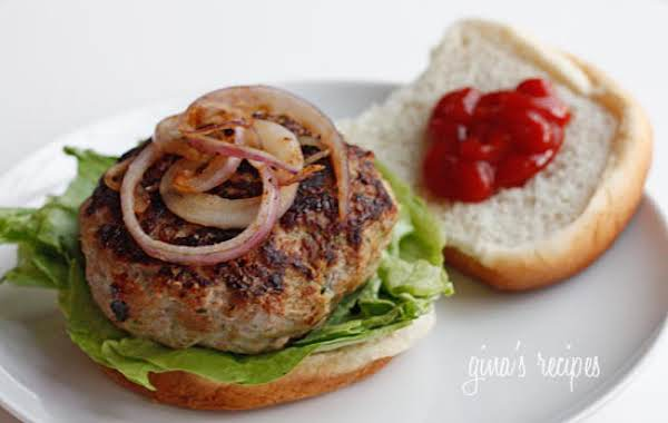 Zucchini Turkey Burgers Recipe