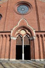 Photo: Il portale centrale
