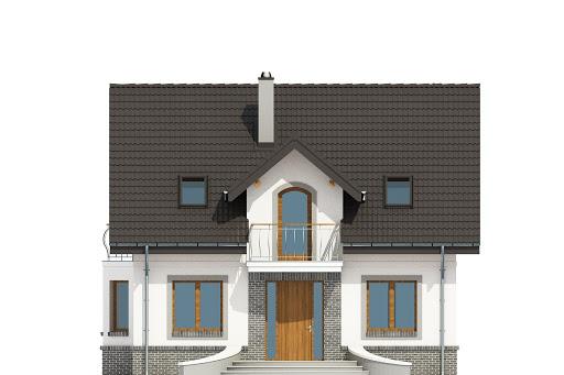 Dom Dla Ciebie 3 bez garażu B - Elewacja przednia