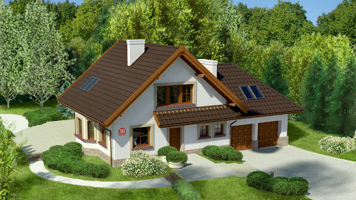 projekt Dom przy Cyprysowej 38