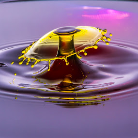 waterdroplet by Domingo Washington - Abstract Water Drops & Splashes ( waterdroplet,  )