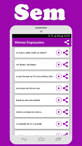Memes Engrau00e7ados 1.0 screenshots 2