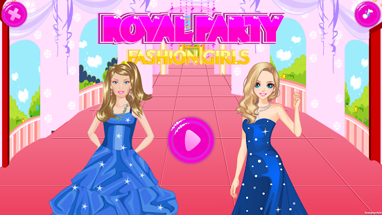 Royal Party Fashion Girls - Dress Up Game - náhled