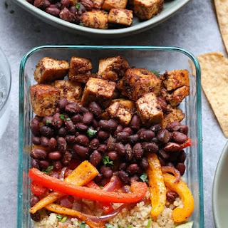 Meal-Prep Vegetarian Quinoa Burrito Bowl Recipe