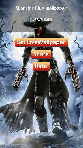 HD Warrior Live Wallpaper