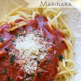 Super Simple Herbed Marinara