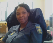 Constable Colleta Puggens who assisted a woman to give birth at a Limpopo police station at the weekend.
