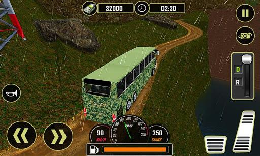 Army Bus Driver 2020: Real Military Bus Simulator apktram screenshots 2