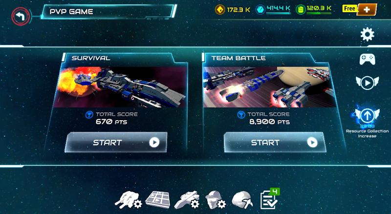 Starship battle Screenshot 1