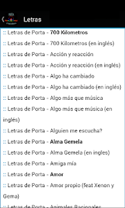 Porta Letras & Musica screenshot 2