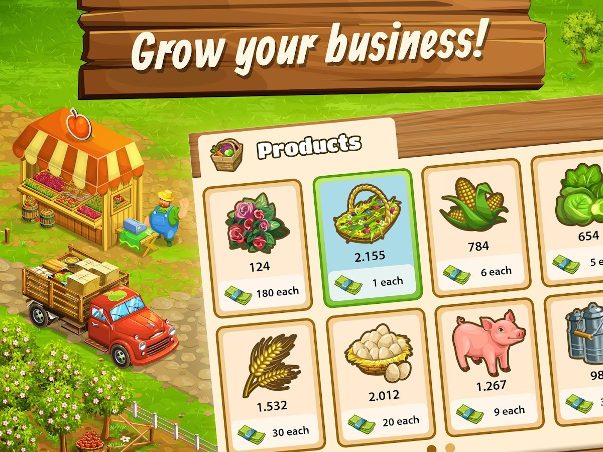 Big Farm: Mobile Harvest- screenshot