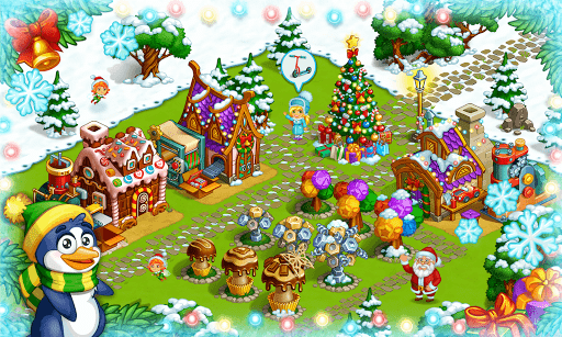 Farm Snow: Happy Christmas Story With Toys & Santa - screenshot