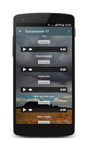 Outconsumer Youtube App- screenshot thumbnail