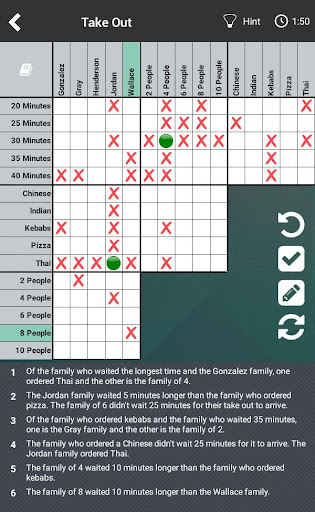 Logic Puzzles Daily - Solve Logic Grid Problems screenshots 9