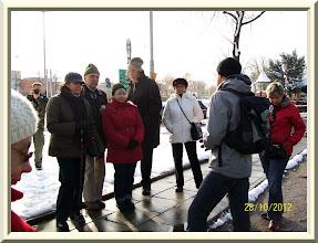 Photo: Ulica Pabianicka przy Dubois. Przewodnikiem był kol. Janusz Molenda.
