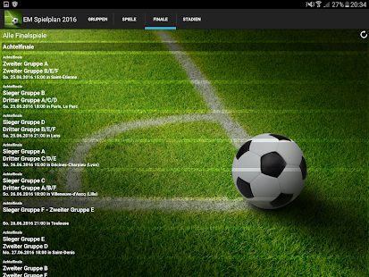 Euro Spielplan 2016- screenshot thumbnail