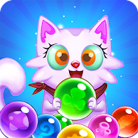 バブルシューター:無料猫ポップゲーム2019