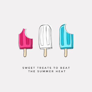 Beat the Summer Heat - Instagram Post Template