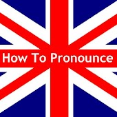 How to pronounce in English