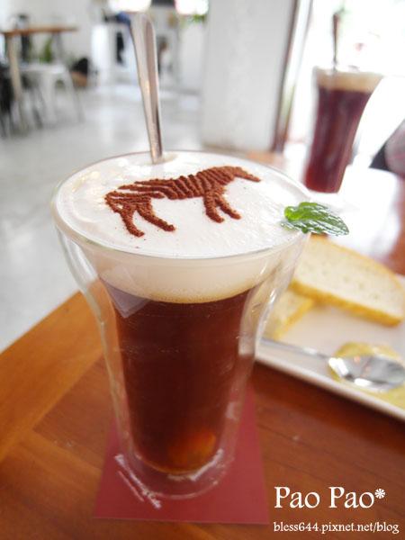 斑馬散步咖啡~餐點美味環境優CP值高~近美術館
