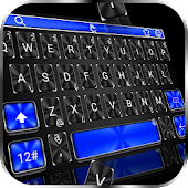 Cool Blue Light Keyboard Theme Android APK Download Free By Love Cute Keyboard