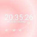 梅の花 デジタル卓上時計 icon