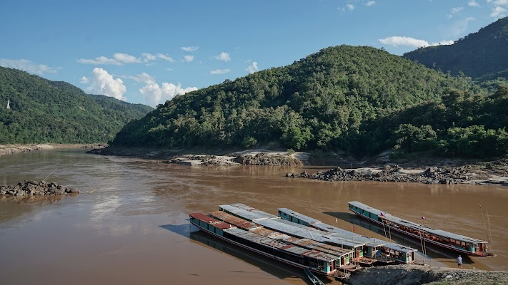Am Mekong in Pak Beng.