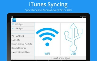 Screenshot of iSyncr for iTunes