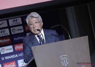 Le président de l'Atlético Madrid est au coeur d'une polémique