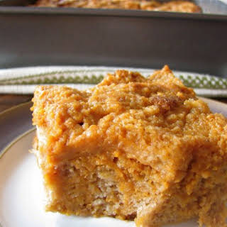 Sweet Potato Bread Pudding .