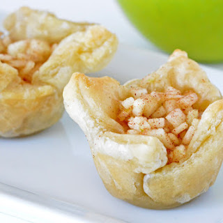 Caramel and Apple Pie Bites