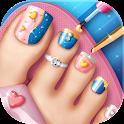 Toe Nail Salon Game icon