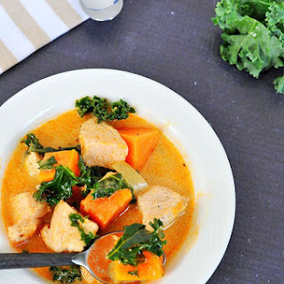 Curry Chicken Sweet Potato Soup