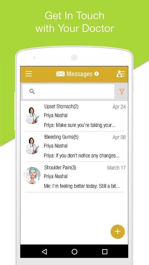 iCancerHealth: Medocity Patient Virtual Care- screenshot
