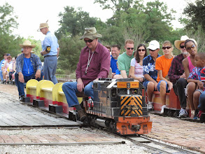Photo: Engineer Cody Crawford and Conductor Art Morris with HALS 5321.   HALS Public Run Day 2014-0920 RPW