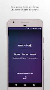 MintWalk - Invest in Mutual Funds & Achieve Goals- screenshot thumbnail