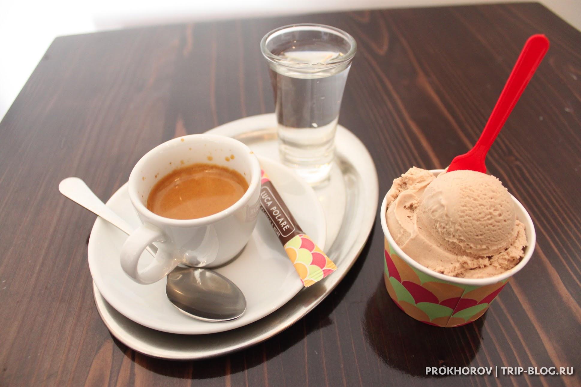 Кофе в Luca Polare
