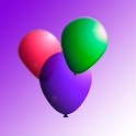 Crazy balloons! Balloon popping - game for kids icon