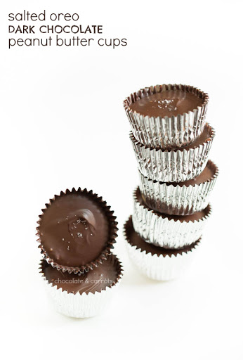Salted Oreo Peanut Butter Cups