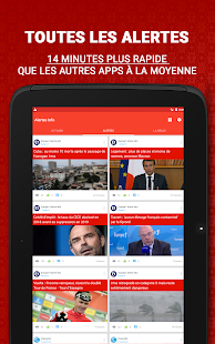 Alertes Info - Actualités France du jour en Direct- screenshot thumbnail