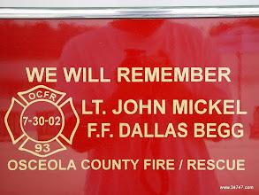Photo: Fire/Rescue, Town Center, Celebration, FL