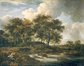 Photo: Jacob van Ruisdael, Torrent with Oak Trees, 1670