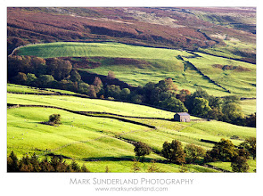 Photo: Early Morning light in Upper Nidderdale  Just processing some shots from a sunrise shoot at Scar House right up at the top end of Nidderdale last week. The sunrise itself was poor (very cloudy) but about half an hour after sunrise the sun started to break through giving some lovely early morning light across the fields.  Canon EOS 5D, 70-200mm at 200mm, ISO 100, 1/10s at f22