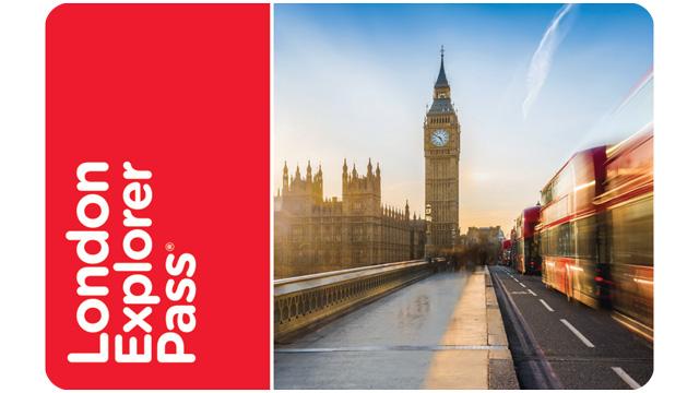 London Explorer Pass倫敦探索者通行證