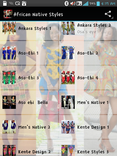 AFRICAN NATIVE STYLES